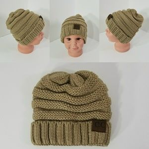 Other - Baby Beanie hats thermal protective outdoor Brown